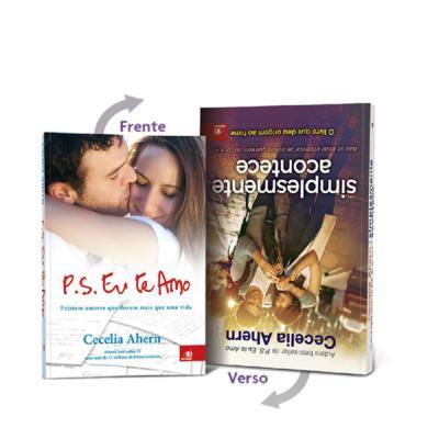 Livro Vira-Vira P.S. Eu Te Amo e Simplesmente Acontece