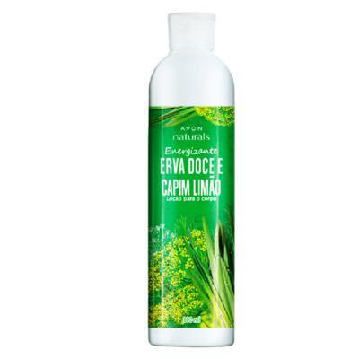 Loção para o Corpo Naturals Erva Doce e Capim-Limão - 300 ml