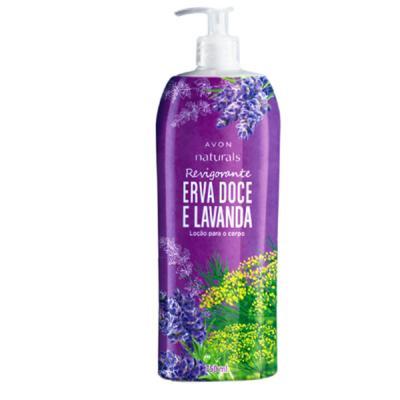 Imagem 1 do produto Loção para o Corpo Naturals Revigorante Erva Doce e Lavanda - 750 ml -