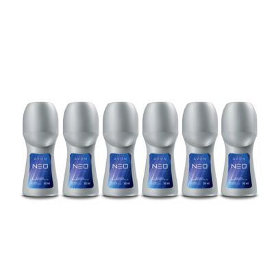 Imagem 1 do produto Kit Desodorante Roll On Neo Evolution Roll On - 6 Unidades
