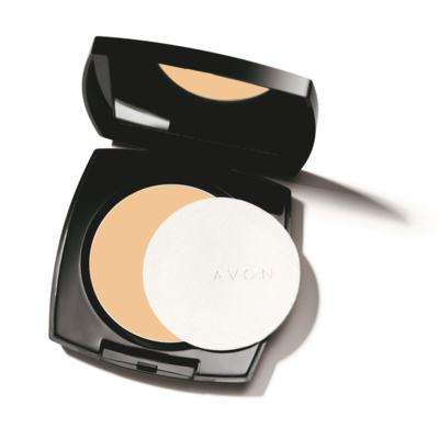 Imagem 1 do produto Pó Compacto Matte Avon Ideal Face 11g