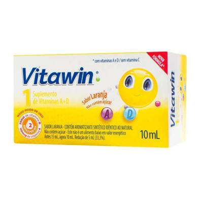 Vitawin 1 Gotas - Laranja   10ml