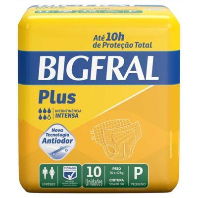 Imagem 6 do produto Kit Fralda Geriátrica Bigfral Plus P 80 unidades -