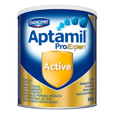 Kit Aptamil Active Fórmula Infantil 800g 12 unidades