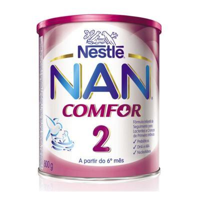 Kit Nan Comfor 2 800g 6 unidades