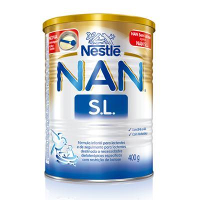 Imagem 1 do produto Nan Sem Lactose Fórmula Infantil 400g Copy