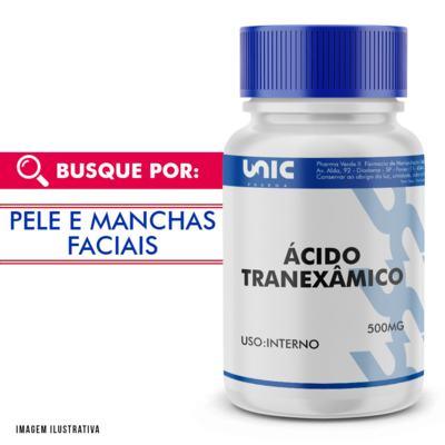 Imagem 1 do produto Ácido Tranexâmico 500mg - 90 Cápsulas