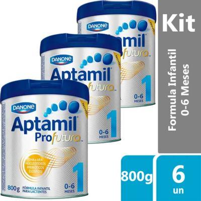 Imagem 8 do produto Fórmula Infantil Aptamil Profutura 1 800g -