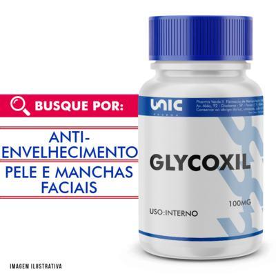 Glycoxil 100mg com selo de autenticidade - 120 Cápsulas