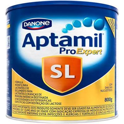 Imagem 1 do produto Kit Aptamil Sem Lactose Pro Expert Fórmula Infantil 800g  6 unidades