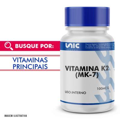 Vitamina k2 100mcg - 90 Cápsulas