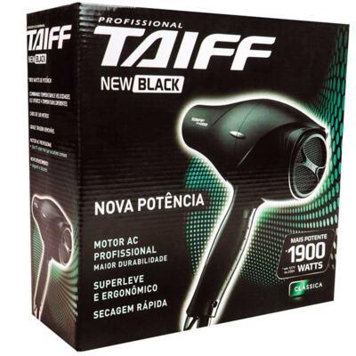 Imagem 3 do produto Secador de Cabelo Taiff New Black 1900W 127V