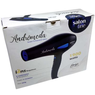 Imagem 1 do produto Secador de Cabelo Salon Line Andrômeda 1900W 127V