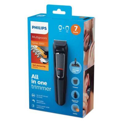 Imagem 1 do produto Aparador de Pelos Philips Multigroom 7 em 1 MG3721/15