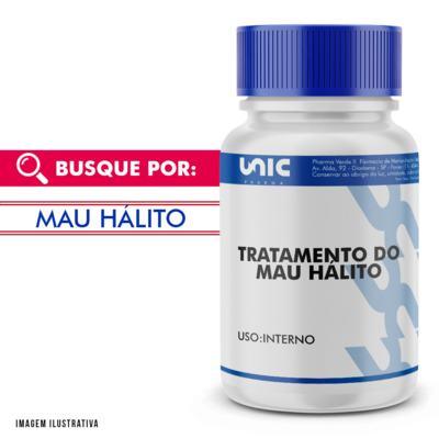 Composto auxiliar no tratamento contra mau hálito - 120 Cápsulas