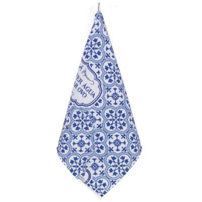 Pano de Copa Mosaico - Azul