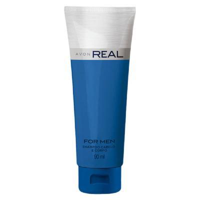 Imagem 1 do produto Shampoo Cabelo e Corpo Real - 90 ml