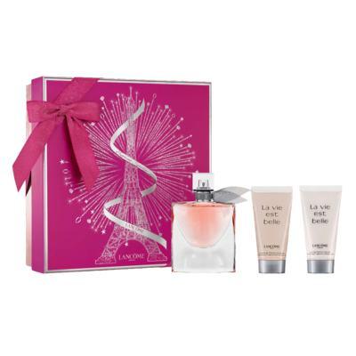 Lancôme La Vie Est Belle Kit - Perfume Feminino EDP + Gel de Banho + Loção Corporal - Kit