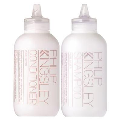 Kit Pure Silver Philip Kingsley - Shampoo + Condicionador - Kit