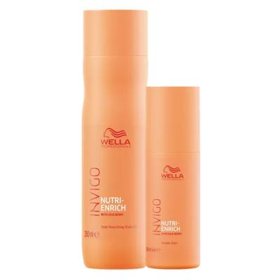 Wella Professionals Invigo Nutri-Enrich Kit - Shampoo + Wonder Balm - Kit