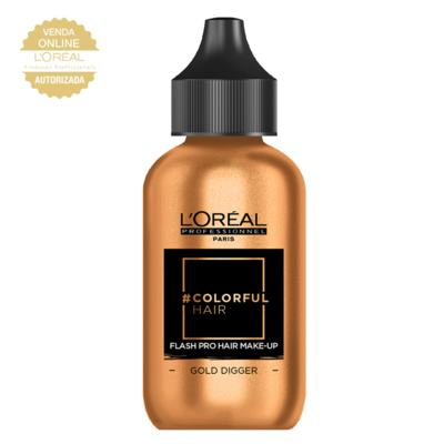 Maquiagem para Cabelo L'Oréal Professionnel - Colorful Hair FlashPro - Gold Digger