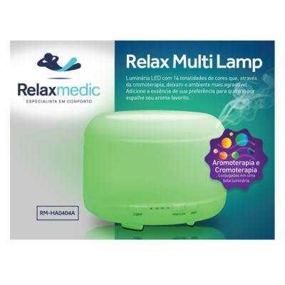 Imagem 5 do produto Luminária LED Multifuncional Relaxmedic - Relax Multi Lamp - Bivolt