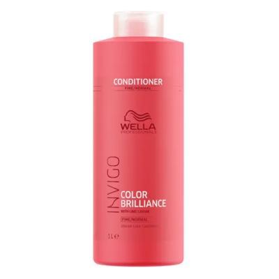 Imagem 3 do produto Kit Invigo Color Brilliance Tamanho Profissional Wella - Shampoo + Condicionador + Máscara + Booster - Kit