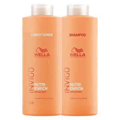 Imagem 1 do produto Wella Professionals Invigo Nutri-Enrich Kit - Shampoo + Condicionador - Kit