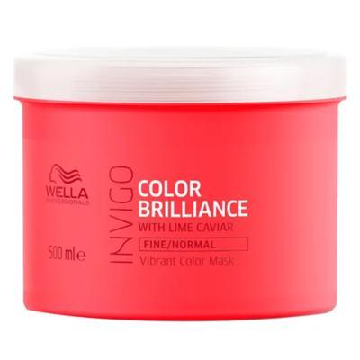 Imagem 3 do produto Kit Invigo Color Brilliance Tamanho Profissional Wella - Shampoo + Máscara + Booster - Kit