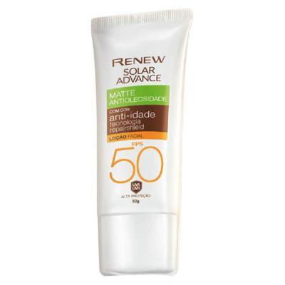 Imagem 1 do produto Protetor Solar Facial Renew Advance Matte com Cor Anti-Idade FPS50 50g