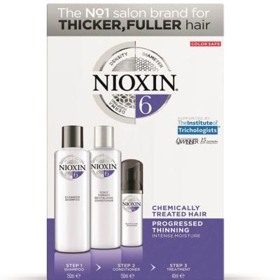 Imagem 2 do produto Kit Nioxin System 6 Shampoo 150ml + Condicionador 150ml + Leave-in 40ml