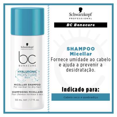 Imagem 2 do produto Schwarzkopf BC Hyaluronic Moisture Kick Micellar - Shampoo - 50ml