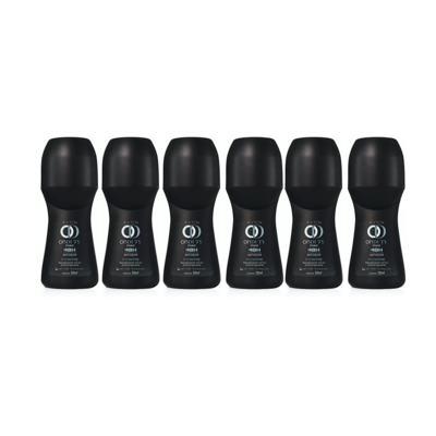 Kit Desodorante Roll-On On Duty Invisible 48h Masculino 50ml - 6 Unidades