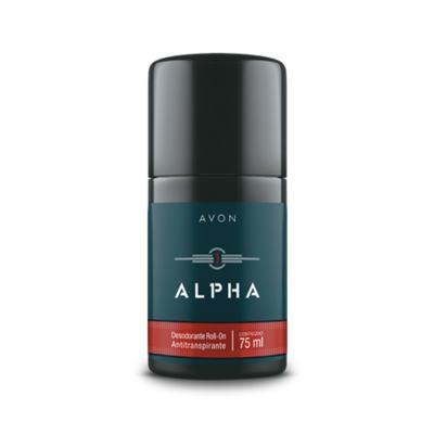 Imagem 1 do produto Desodorante Roll-On Antitranspirante Alpha - 75ml