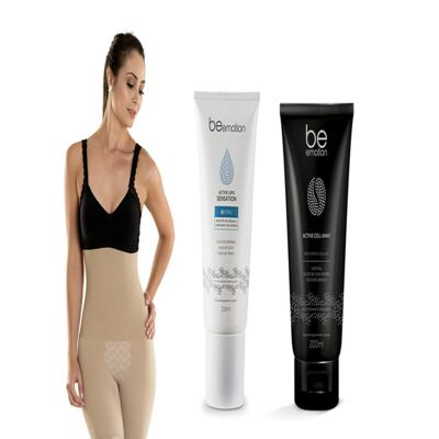 Imagem 2 do produto Slim Control + Redutor De Medidas e Gorduras Localizadas Active Lipo Sensation Be Emotion - | Nude M + Sensation + Cell Way
