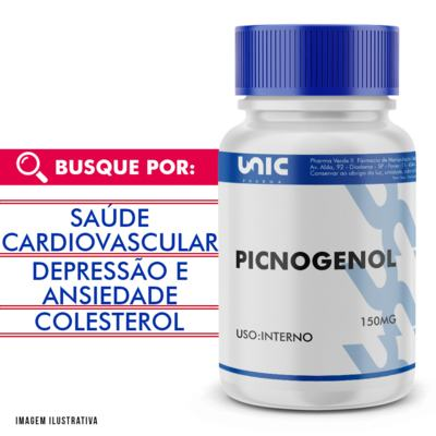 Picnogenol 150mg - 90 Cápsulas