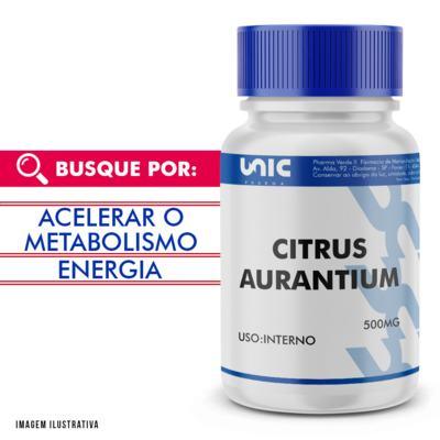 Citrus aurantium 500mg - 90 Cápsulas