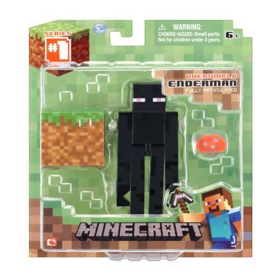 Imagem 2 do produto Boneco Enderman Minecraft Com Acessórios - BR144A - BR144A