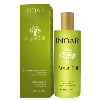 Imagem 3 do produto Inoar Óleo de Tratamento Argan Oil - Tratamento Disciplinador - 60ml
