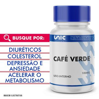 Café verde 100mg - 90 Cápsulas