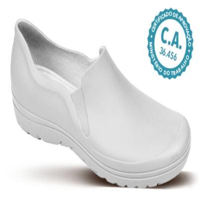 Imagem 2 do produto Sapato Profissional Masculino Enzo Branco Boa Onda - 37