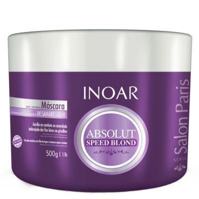 Imagem 3 do produto Inoar Absolut Speed Blond - Máscara Desamareladora - 500g