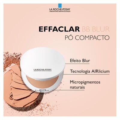 Imagem 5 do produto Effaclar BB Blur Fps 25 La Roche-Posay- Pó Compacto - Média