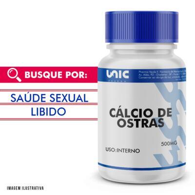 Imagem 1 do produto Cálcio de ostras 500mg - 120 Cápsulas