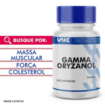 Gamma oryzanol 300mg - 90 Cápsulas