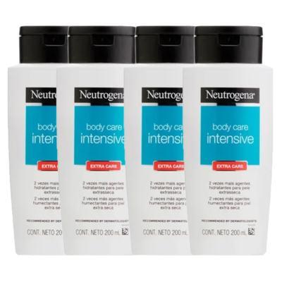 Leve 4 Pague 3 Hidratantes Corporais Neutrogena Body Care Intensive - Kit
