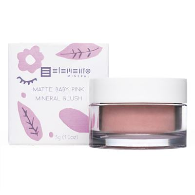 Imagem 4 do produto Blush Mineral Matte Elemento Mineral - Baby Pink