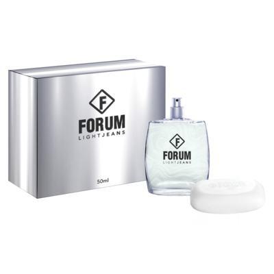 Forum Light Jeans Kit - Eau de Toilette + Sabonete - Kit