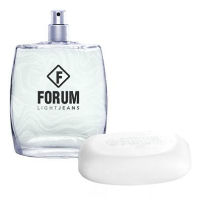 Imagem 2 do produto Forum Light Jeans Kit - Eau de Toilette + Sabonete - Kit