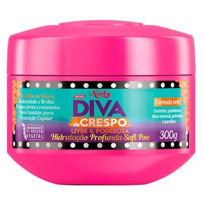 Imagem 4 do produto Diva de Crespo Soft Poo Niely - Shampoo + Condicionador + Tratamento - Kit
